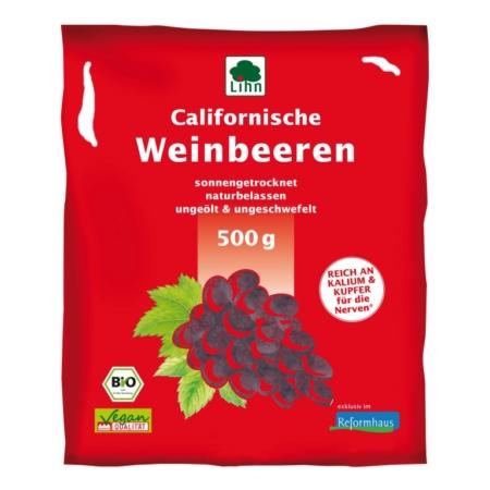 Lihn Californische Weinbeeren bio