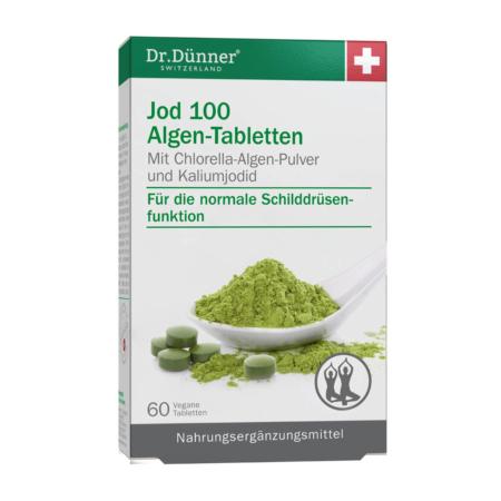 Dr. Dünner Jod 100 Algen-Tabletten