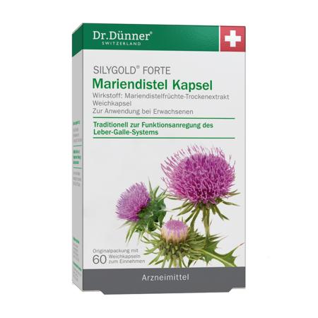 Dr. Dünner Silygold Forte Mariendistel Kapsel