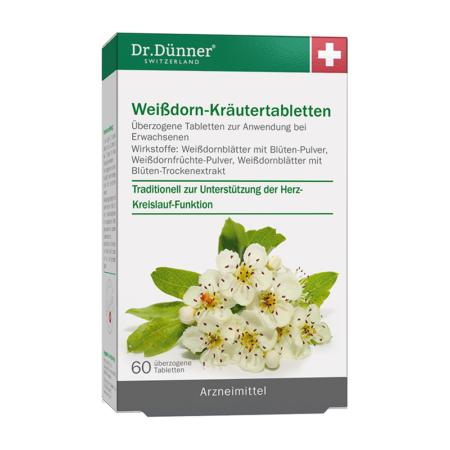 Dr. Dünner Weißdorn-Kräutertabletten