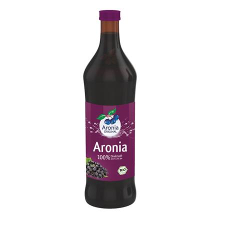 Aroniasaft 100% Bio Direktsaft 700ml