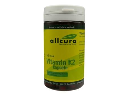 Allcura Vitamin K2 Kapseln