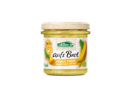 Allos aufs Brot Mango Curry