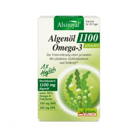 Alsiroyal Algenöl Omega-3 1100