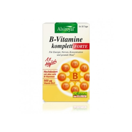 Alsiroyal B-Vitamine komplett FORTE