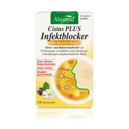 Alsiroyal Cistus PLUS Infektblocker mit Manuka-Honig