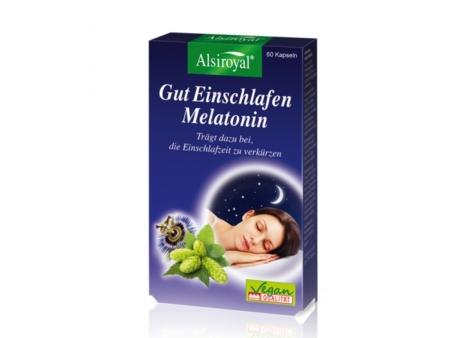 Alsiroyal Gut Einschlafen Melatonin Kapseln