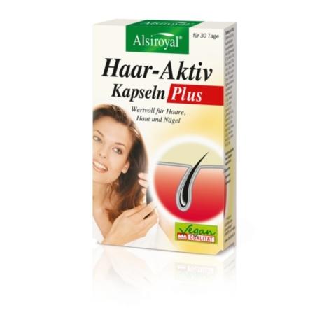 Alsiroyal Haar-Aktiv Kapseln Plus