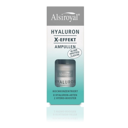 Alsiroyal Hyaluron X-Effekt Ampullen Pipettenflasche (15ml)
