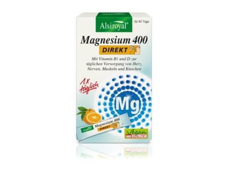 Alsiroyal Magnesium 400 DIREKT Orange (40 Sticks)