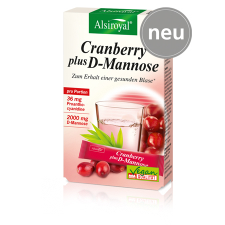 Alsiroyal Cranberry plus D-Mannose