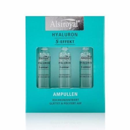 Alsiroyal Hyaluron 5-Effekt Ampullen