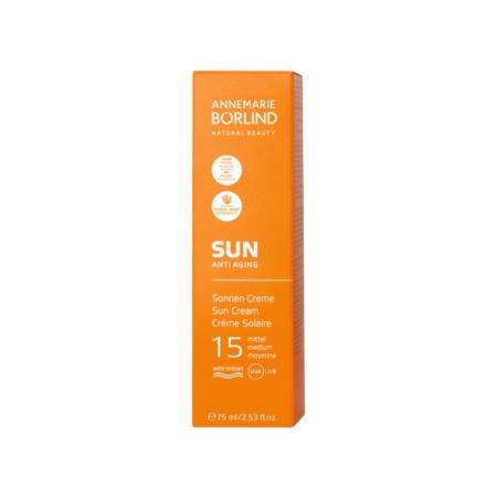 ANNEMARIE BÖRLIND SUN ANTI AGING Sonnen-Creme LSF15