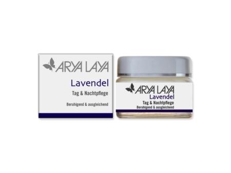 Arya Laya Lavendel Tag & Nachtpflege (50ml)
