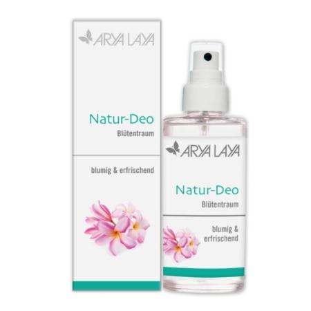 Natur-Deo Blütentraum verleiht einen femininen Duft, der Ihre weibliche Seite sanft umschmeichelt