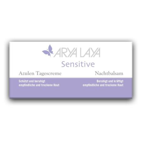 Arya Laya Sensitive Gesichtspflege Combi-Pack (2x50ml)
