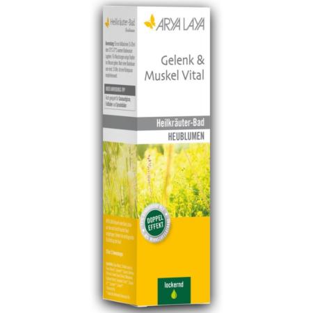 Arya Laya Heilkräuter-Bad Gelenk & Muskel Vital Heublumen (200ml)