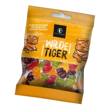 Attila Hildmann Wilde Tiger vegane Fruchtgummis