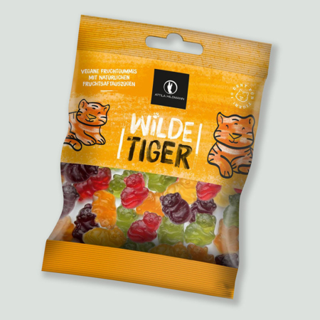 Attila Hildmann Wilde Tiger (vegane Fruchtgummis)
