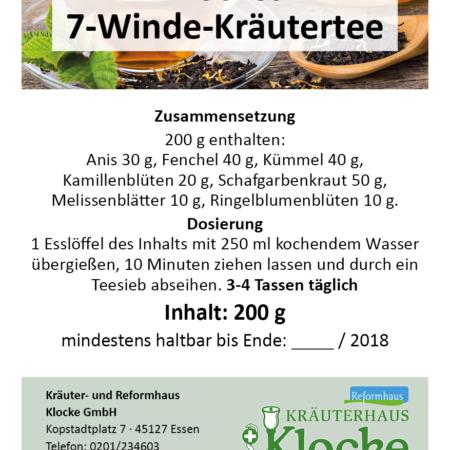 Klockes 7-Winde-Kräutertee