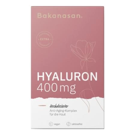Bakanasan Hyaluron Anti-Aging-Komplex für die Haut mit Zink Vitamin C und B12