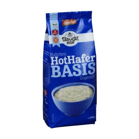 Bauck Hof Porridge Hot Hafer Basis glutenfrei
