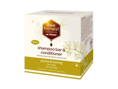Beehonest Shampoo bar & conditioner Jojoba und Honig