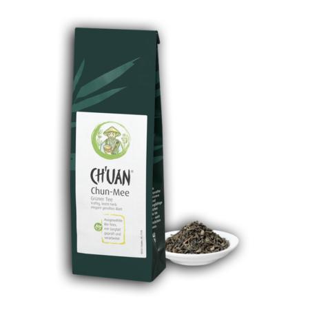 Ch'uan Grüner Tee bio-Chun Mee