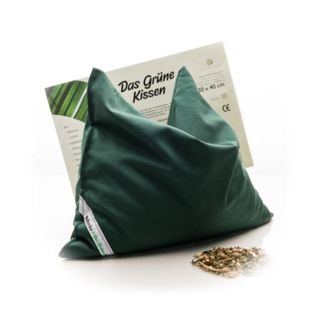Das Grüne Kissen 30 x 40 cm