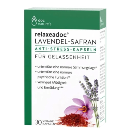 doc natures´s relaxeadoc Lavendel-Safran