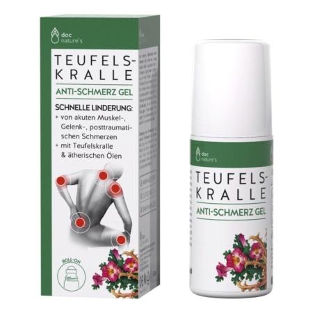doc natures´s Teufelskralle Anti-Schmerz Gel Roll-On (50ml)