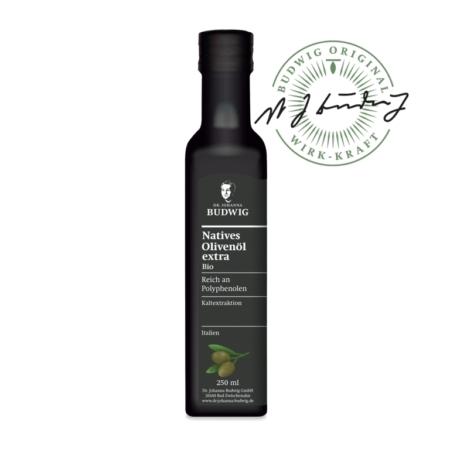 Dr. Budwig Natives Olivenöl extra bio (250ml)