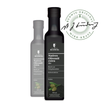 Dr. Budwig Natives Olivenöl extra bio (500ml)