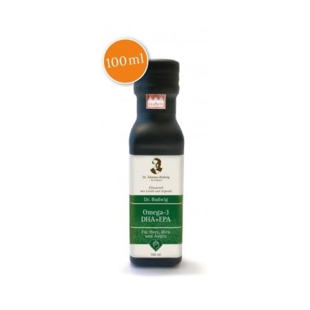 Dr. Budwig's Omega-3 DHA+EPA Leinöl (100ml)