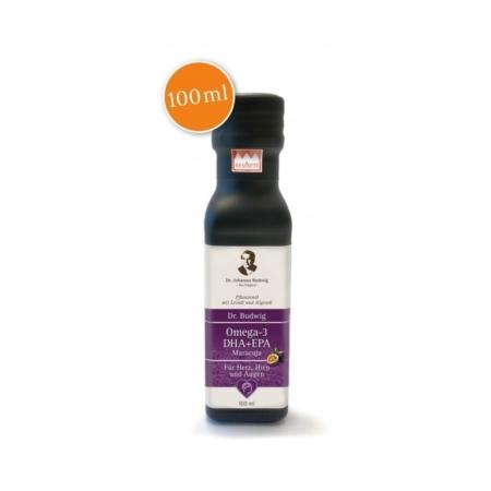 Dr. Budwig´s Omega-3 DHA+EPA Maracuja (100ml)