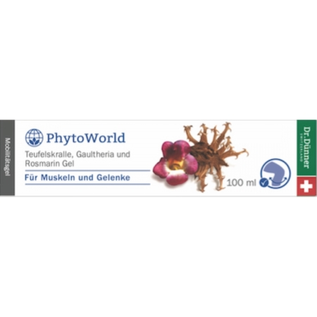 Dr. Dünner PhytoWorld Teufelskralle Gaultheria Gel