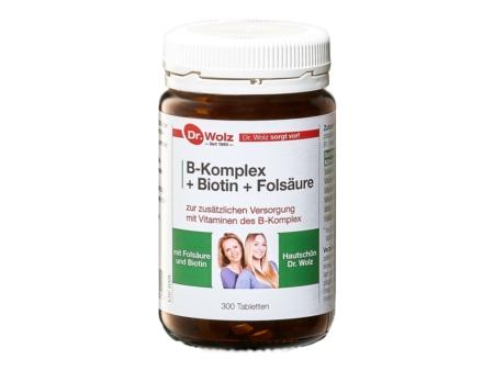 Dr Wolz B Komplex Biotin Folsäure