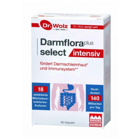 Dr. Wolz Darmflora plus select intensiv Kapseln