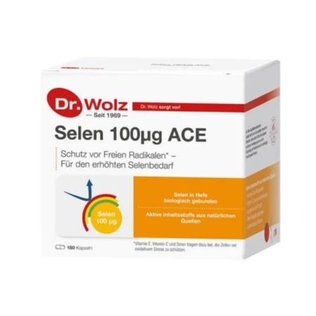 Dr. Wolz Selen plus ACE (180 Kapseln)