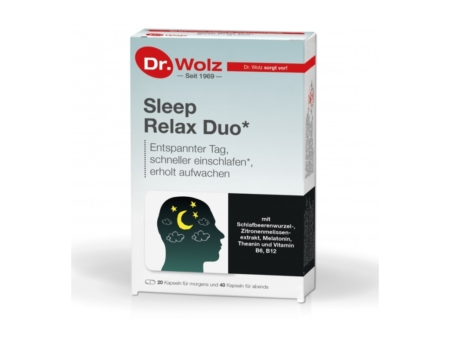 Dr. Wolz Sleep Relax Duo (60 Kapseln)