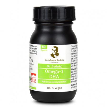 Dr. Budwig Omega-3 DHA Kapseln