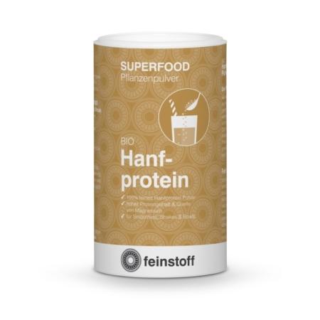 Feinstoff Hanfprotein Pulver bio Superfood