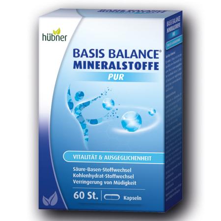 Hübner Basis Balance Mineralstoffe PUR (60 Kapseln)