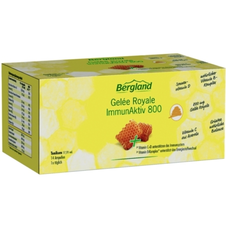 Bergland Gelée Royale ImmunAktiv 800