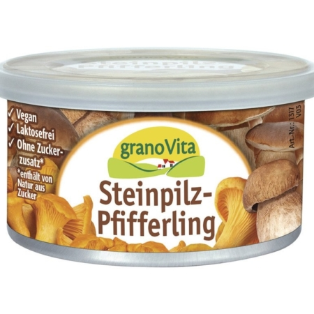 granoVita Pastete Steinpilz-Pfifferling