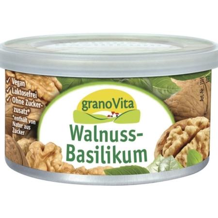 granoVita Pastete Walnuss-Basilikum