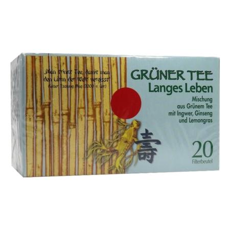 "Grüner Tee ""Langes Leben"""