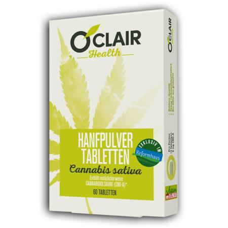 O'CLAIR Health Hanfpulver-Tabletten (30 Stück)