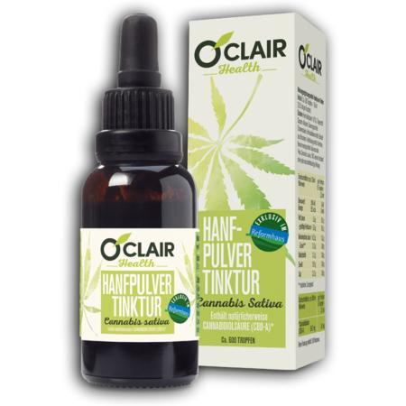 O'CLAIR Health Hanfpulver-Tinktur (30ml)