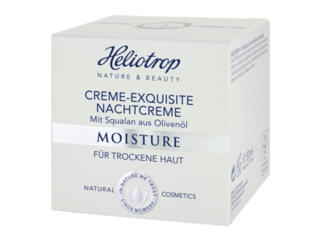 Heliotrop MOISTURE Creme-Exquisite Nachtcreme (50ml)
